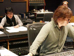 朝倉紀行 松尾エンジニア at 乃木坂 Sony Studio