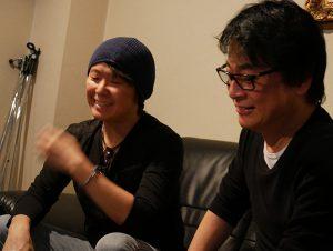 静野監督と朝倉紀行 at 西麻布 Alphanear Studio